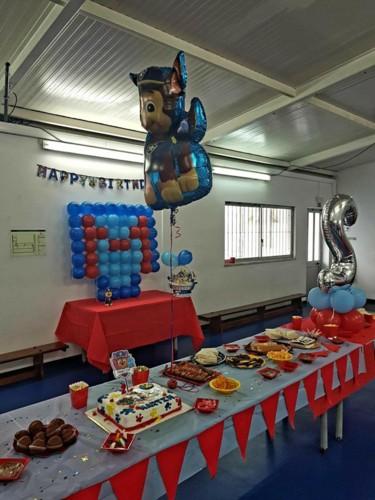 Festa Aniversário- patrulha pata